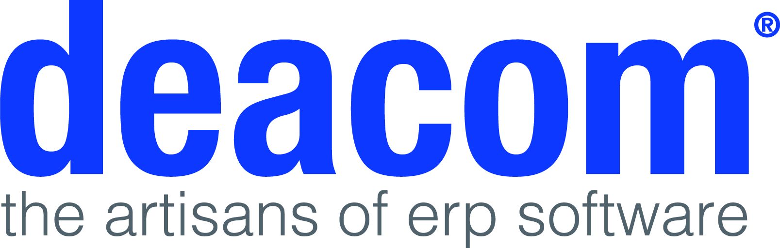 Deacom Logo – the artisans of erp software
