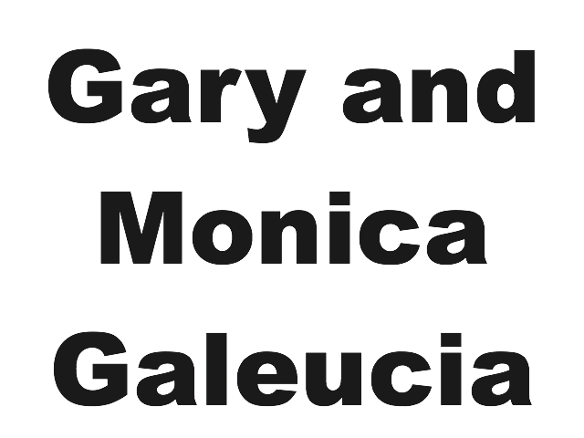 Gary and Monica Galeucia- Bronze Sponsor