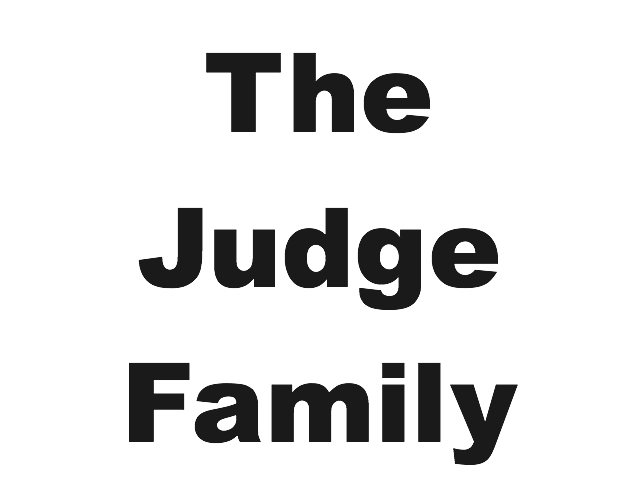 The Judge Family – Bronze Sponsor