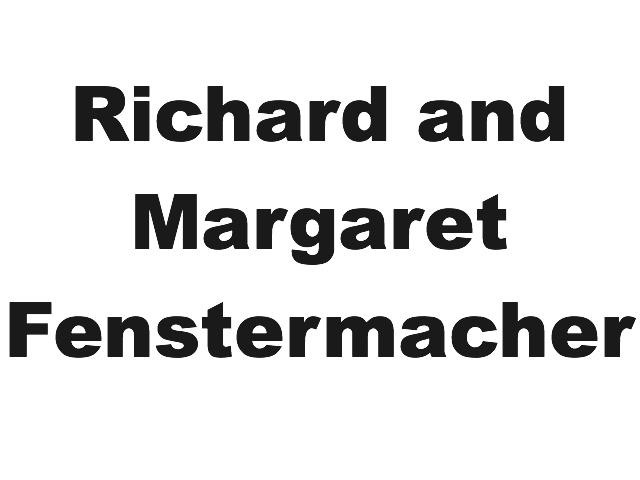 Richard and Margaret Fenstermacher