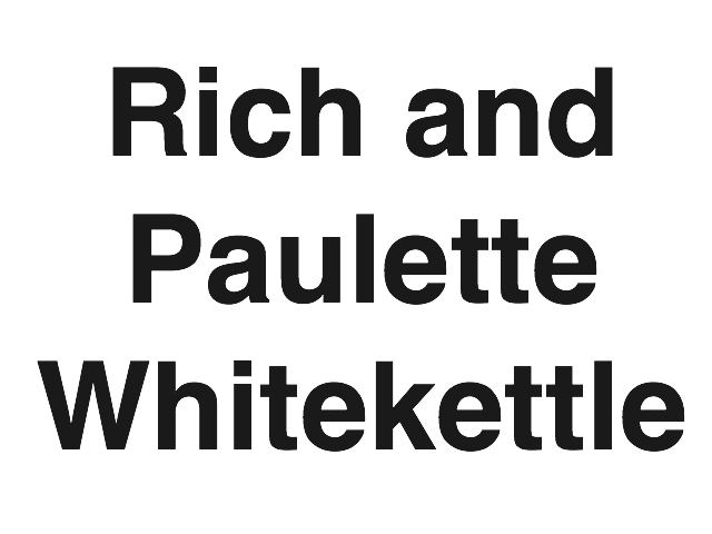 Rich and Paulette Whitekettle
