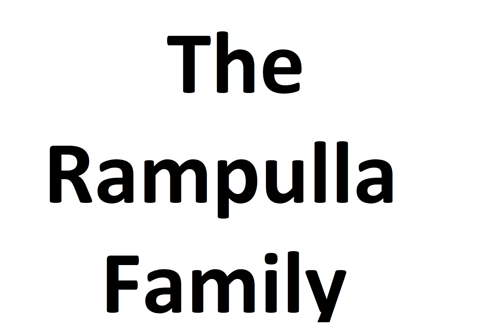 The Rampulla Family