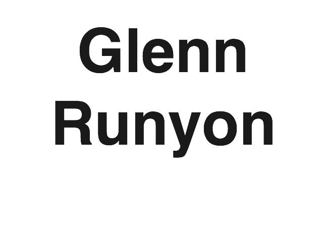 Glenn Runyon – bronze